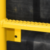 Powder coated aluminium ladder