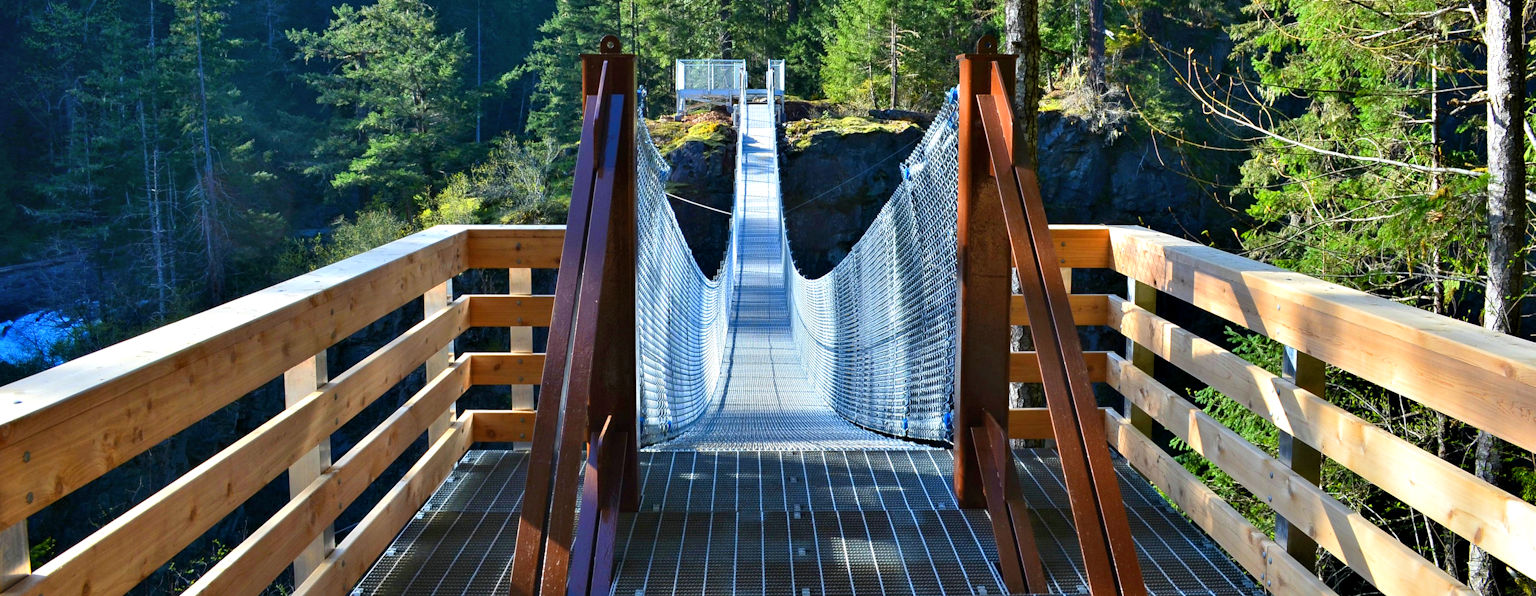 Elk Falls Suspended Bridge
