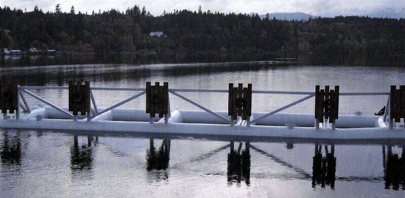 Steel Pontoon Docks - West Coast Floatation