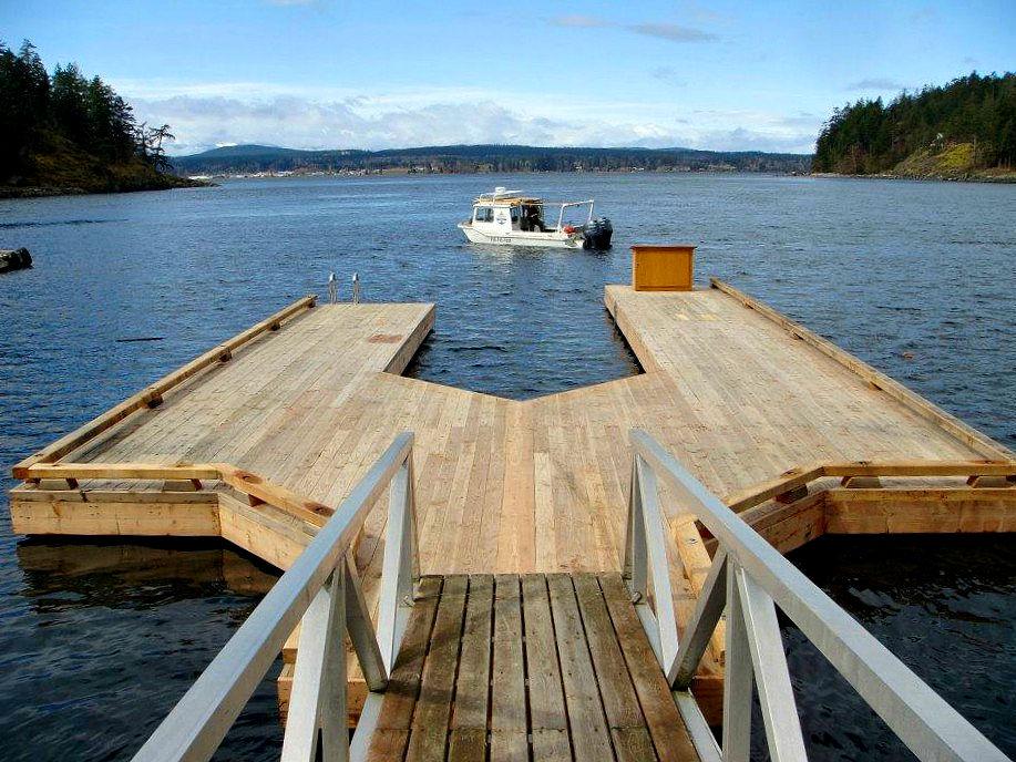 Wood Docks West Coast Floatation
