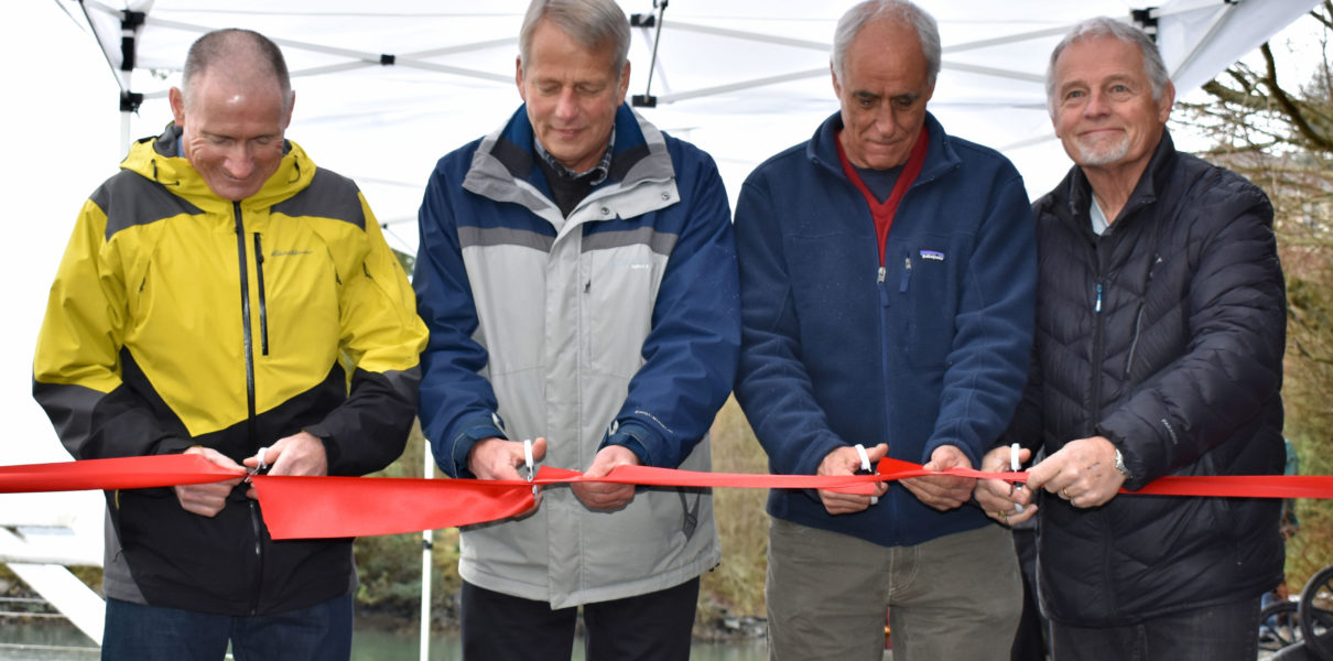Arbutus Ridge Marina Ribbon Cutting Ceremony