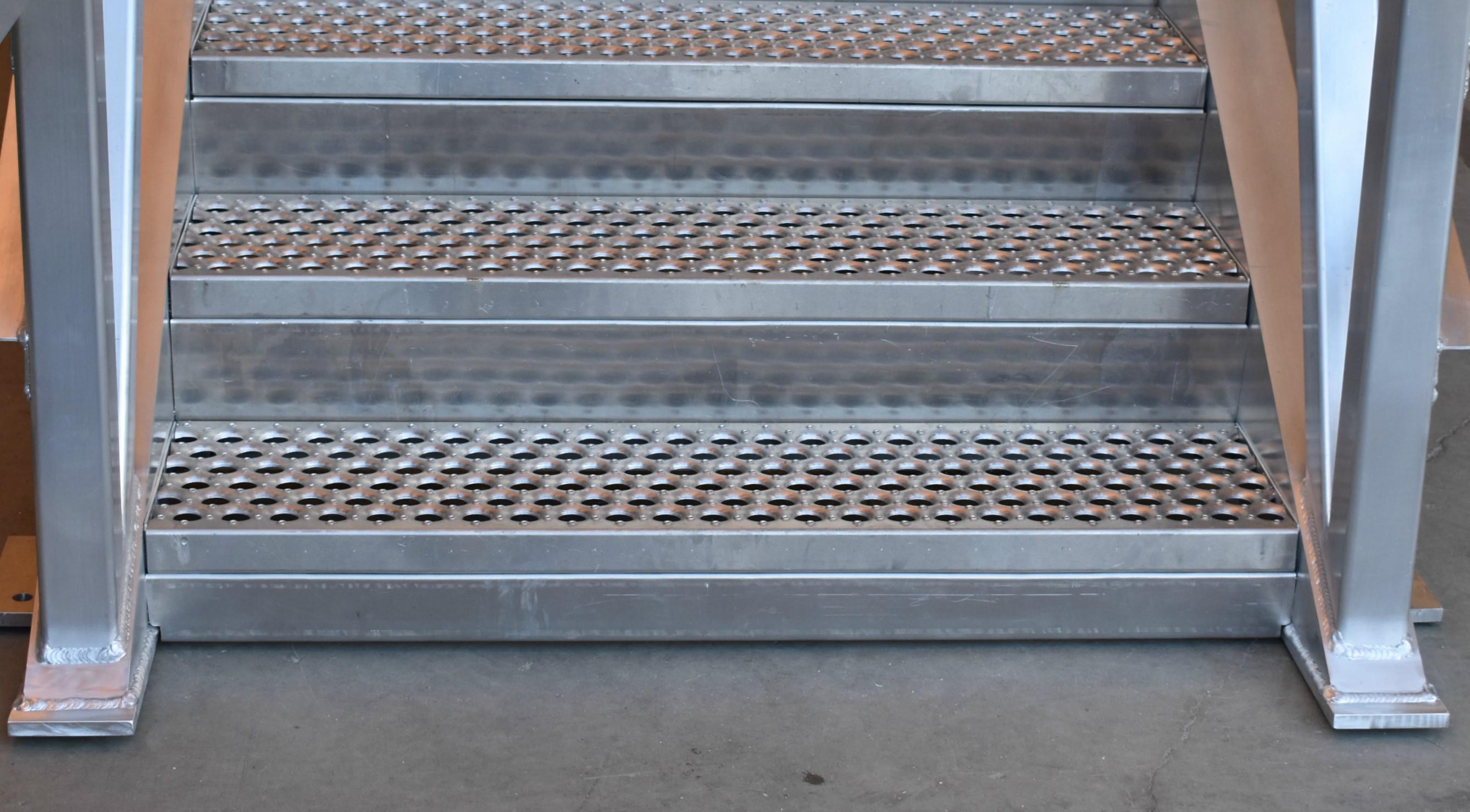 Nootka Island Aluminium Stairs