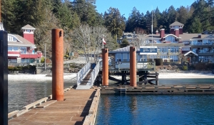 Bedwell Harbour on Pender Island